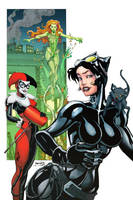 Catwoman Harley Ivy colors by thejeremydale