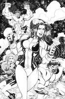 HEROESCON 11 She-Hulk INKS by thejeremydale