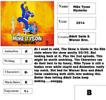 Stocking Rose Report Card - Mike Tyson Mysteries by Stocking-Star
