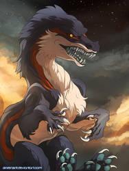Dragon by Sikkenskit