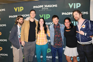 Imagine Dragons Evolve Tour 2017 by enteringmymind