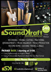 Soundkraft Flyer by enteringmymind