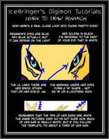 Digimon tutorials -renamon 06 by IceRenamon