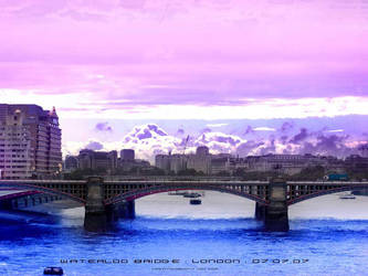 Waterloo Bridge by creationbooth