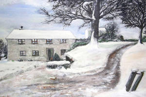 The Old Barn, Isle of Man,  Acrylic on Canvas by creationbooth