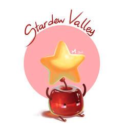 Junimos | Stardew Valley fanart by Shinochan