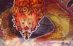 Sea Dragon by dmillustration