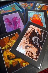 Miniprints by dmillustration