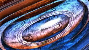 Collider torus by singingwithfractals