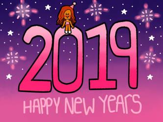Happy New Year! (2019) by raegan903