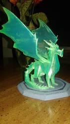 Spyro Reignited Crystal Dragon by SYMA24G