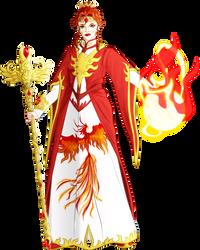 Phoenix Sorceress by danelsan