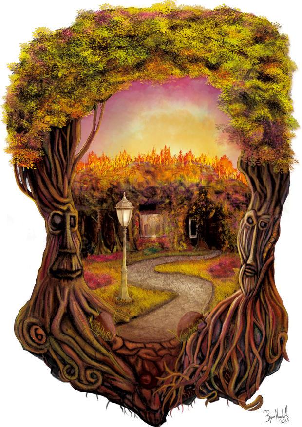The Magician's Garden by BMarshallARTS