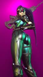 Widowmaker Pose (mobile version) by Ozymandias2