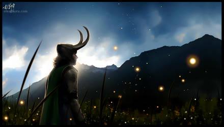 Fireflies by eleathyra