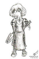 Ragnarok Online Priest by soudou