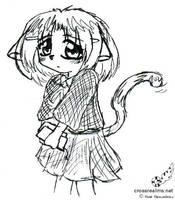 Kitten Girl by soudou