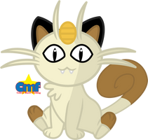Cute Meowth by Tiny-Toons-Fan