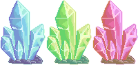 Crystal Trio [F2U] by FluffZee