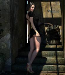 EchoBlackDress1 by Eclesi4stiK