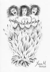The 3 Witches | 2015 by JudeVi