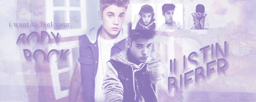 Justin Bieber Signature by darkeyeddreamer