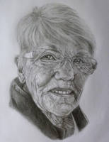 Portrait of Grandmother by eddiebacon