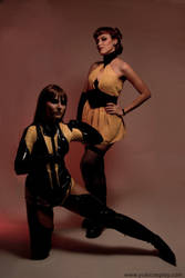 Watchmen:Silk Spectre I and II by Yukilefay