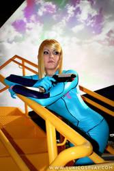 Metroid cosplay - Elysia Sky by Yukilefay