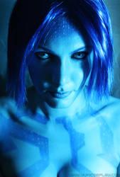 Cortana makeup by Yukilefay
