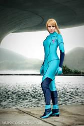Samus Aran - Metroid by Yukilefay
