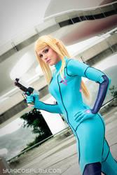 Samus Aran - ZeroSuit cosplay for CfaC by Yukilefay