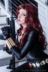 Black Widow Cosplay by Yukilefay