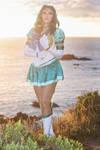 Sailor Neptune - Sunset sea by Yukilefay