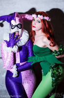 Harley and Ivy - Gotham Girls by Yukilefay