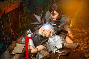 Dragon Age Cosplay - Healing by Yukilefay