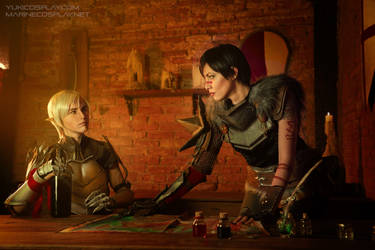 Dragon Age Cosplay - Tavern by Yukilefay