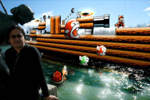 SMB3-World 7, Pipe World by vampipe