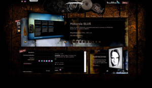 My Personal Website Skin02 by vampipe