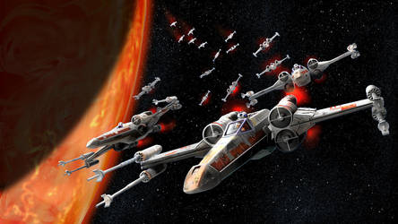 Stay In Formation Red 5 by pyraker