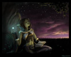 Night Sky by AonikaArt