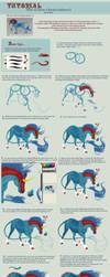 Tutorial: horse-unicorn- body by AonikaArt