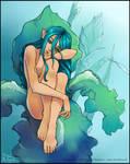 Blue fairy by AonikaArt