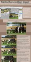 Tutorial: horse painting by AonikaArt