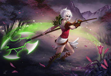 Rivenous Riven by AonikaArt