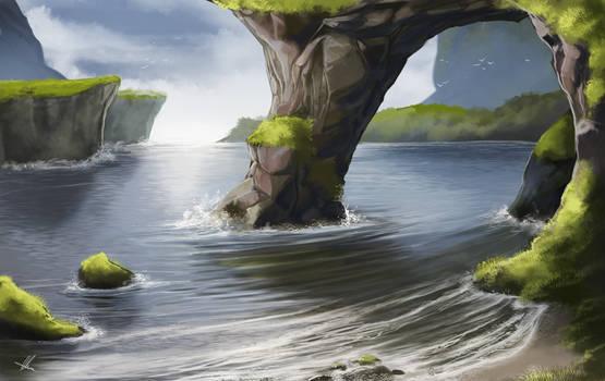 Wild Coast by AonikaArt
