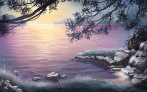 Lake of Dreams by AonikaArt