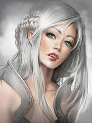 White by AonikaArt