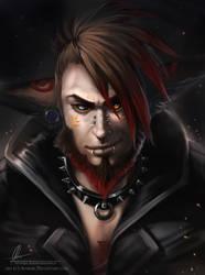 Portrait of Malikor by AonikaArt