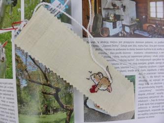 Mouse bookmark by Khajitt